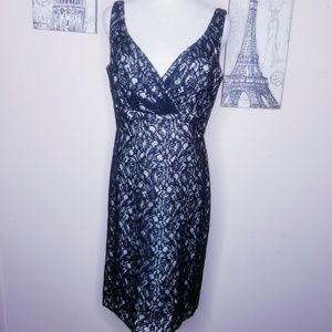 White House Black Market Dress Date Night Sz 10
